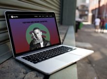 Spotify Web Redesign Project